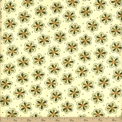 Sassy Cotton Fabric - Cream 17642-12