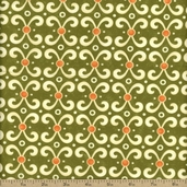 Sassy Cotton Fabric - Green 17645-15