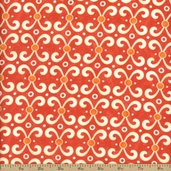 Sassy Cotton Fabric - Orange 17645-13