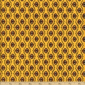 Savonnerie Cotton Fabric - Yellow 21634-16