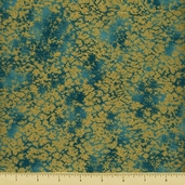 Sayomi Cotton Fabric - Juniper Gold K7129-476G