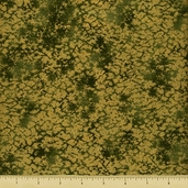 Sayomi Cotton Fabric - Leaf Gold K7129-178G