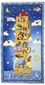 Sea of Dreams Cotton Fabric - Noah's Ark Panel