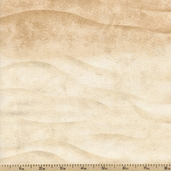 Sea of Tranquility Shore Cotton Fabric - Sand 1672-82594-121S