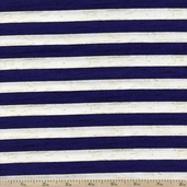 Seaside Escape Wood Plank Stripe Cotton Fabric - Blue
