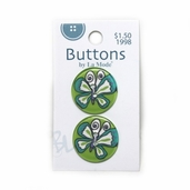 See-Through Buttons - Butterfly