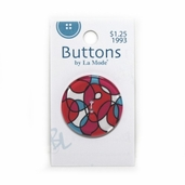 See-Through Buttons - Interlocking Circles