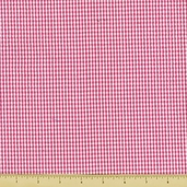 Seersucker Check Cotton Fabric - Hot Pink CXS-2902-110