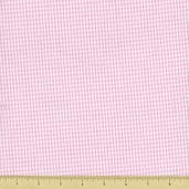 Seersucker Check Cotton Fabric - Pink CXS-2902-2