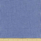 Seersucker Check Cotton Fabric - Royal CXS-2902-3