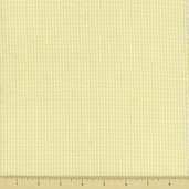 Seersucker Check Cotton Fabric - Yellow CXS-2902-8