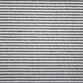 Seersucker Stripe Cotton Fabric - Black