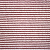 Seersucker Stripe Cotton Fabric - Crimson