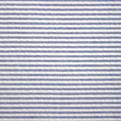 Seersucker Stripe Cotton Fabric - Royal Blue