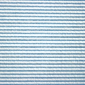 Seersucker Stripe Cotton Fabric - Turquoise