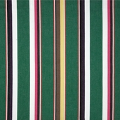 Serape Stripes Deluxe Cotton Fabric - Green