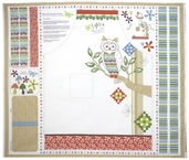 Serenade Aprol Panel Cotton Fabric - White 27110-11