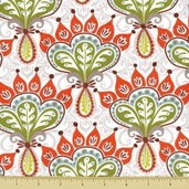 Serenade Cotton Fabric - Thistle - Autumn