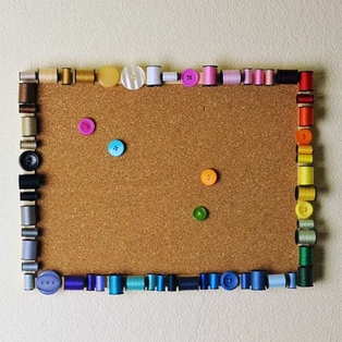 Sew Little Time Cork Board