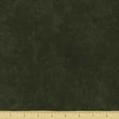 Shaded Oaks Marble Solid Flannel Fabric - Dark Green