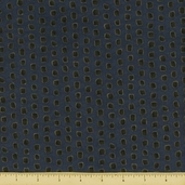 Shaded Oaks Northwoods Dot Flannel Fabric - Autumn Blue 6481-12F