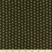 Shaded Oaks Northwoods Dot Flannel Fabric - Dark Green 6481-13F
