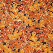 Shades Of The Season 3 Cotton Fabric - Rust