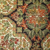 Shades Of The Season 3 Cotton Fabric - Spice CLEARANCE