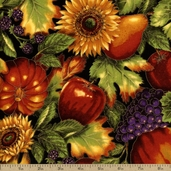 Shades of the Season 6 Harvest Cotton Fabric - Autumn