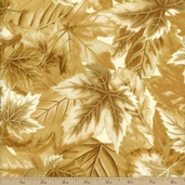 Shades Of The Season 7 Cotton Fabric - Ivory Metallic