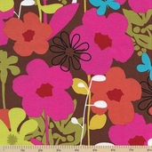 Shadow Flower Cotton Fabric - Multi