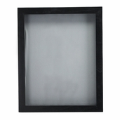 Shadowbox Visage Hinged - 11 x 14 inch - Black