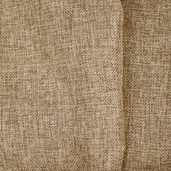 Shannon Faux Burlap Polyester Fabric - Almond