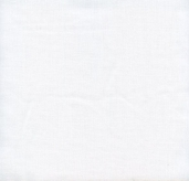 Sheermist Batiste Polyester Cotton Blend Broadcloth - White