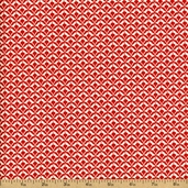 Shelburne Falls Deco Fans Cotton Fabric - Maple PWDS045
