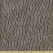 Shimmer Spotted Cotton Fabric - Earth Metallic