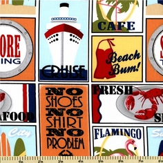 Shore Thing Seaside Travel Stickers DC5607-D