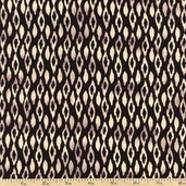 Silk Road Caravan Cotton Fabric - Black CX6048-BLAC-D