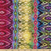 Silk Road Stripe Cotton Fabric - Multi CX6041-MULT-D