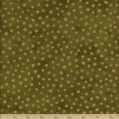 Simple Marks Cotton Fabric - Moss 23209-22