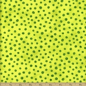 Simple Marks Summer Cotton Fabric - Acid Green 23209-34