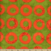 Simple Marks Summer Cotton Fabric - Pear 23223-13