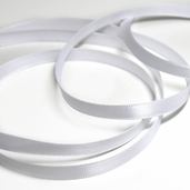 Single-Faced Satin Ribbon 1/4 inch 25yds - White