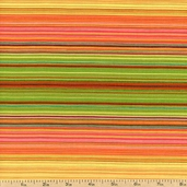 Siren Song Stripe Cotton Fabric - Grass DC5377-CITR-D