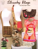 Slouchy Bags Pattern Book by Cindy Taylor Oates