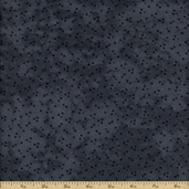 Snowman Gatherings Cotton Fabric - Warm Blue 1084-17