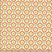 So Happy Together Cotton Fabric - White C3232