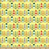 So Happy Together Cotton Fabric  - Yellow C3231
