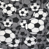 Soccer Fleece Fabric
