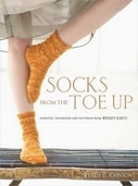 Socks from the Toe Up Pattern Book By Wendy D. Johnson